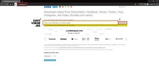 dailymotion video downloader chrome