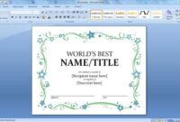 How to Insert Frame and Borders in Microsoft Word
