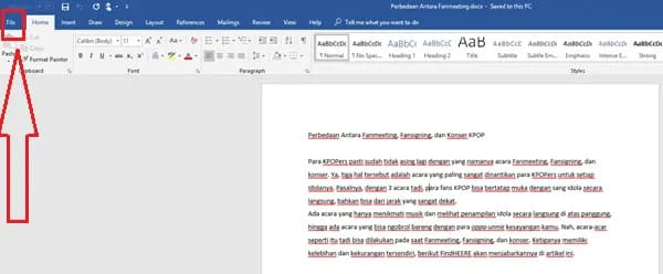 how to remove red lines in word mac