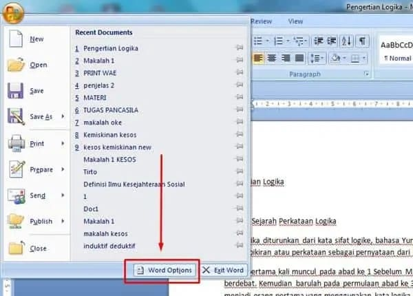 what is the red squiggly line in word called