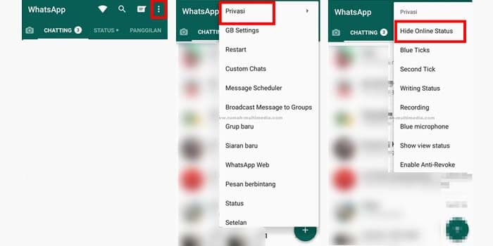 how to make last seen on WhatsApp unchanged