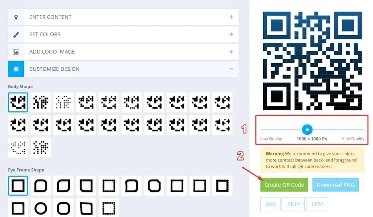 kaywa QR code