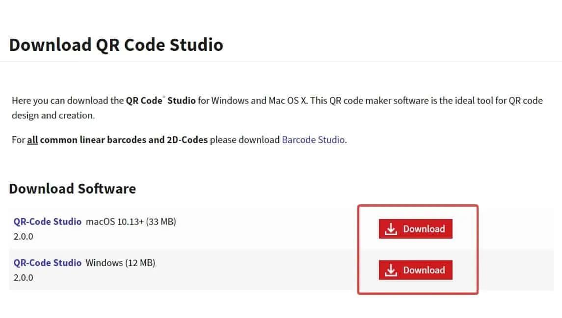 QR code subscription