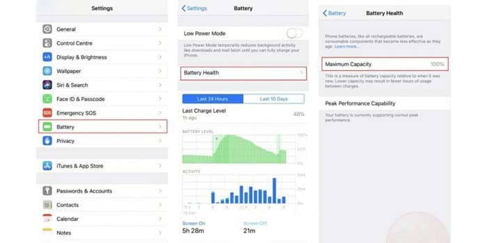 how to save iPhone battery health