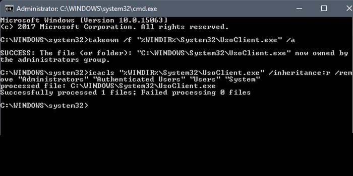 how to stop windows update in windows 10