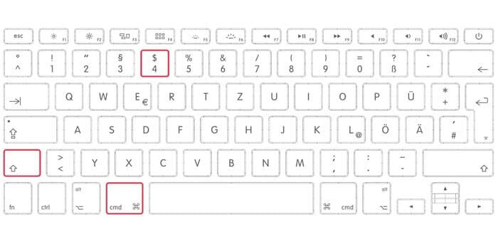 how to screenshot on mac without keyboard