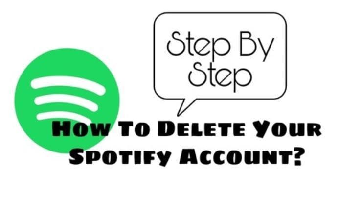 How do you delete your free Spotify account