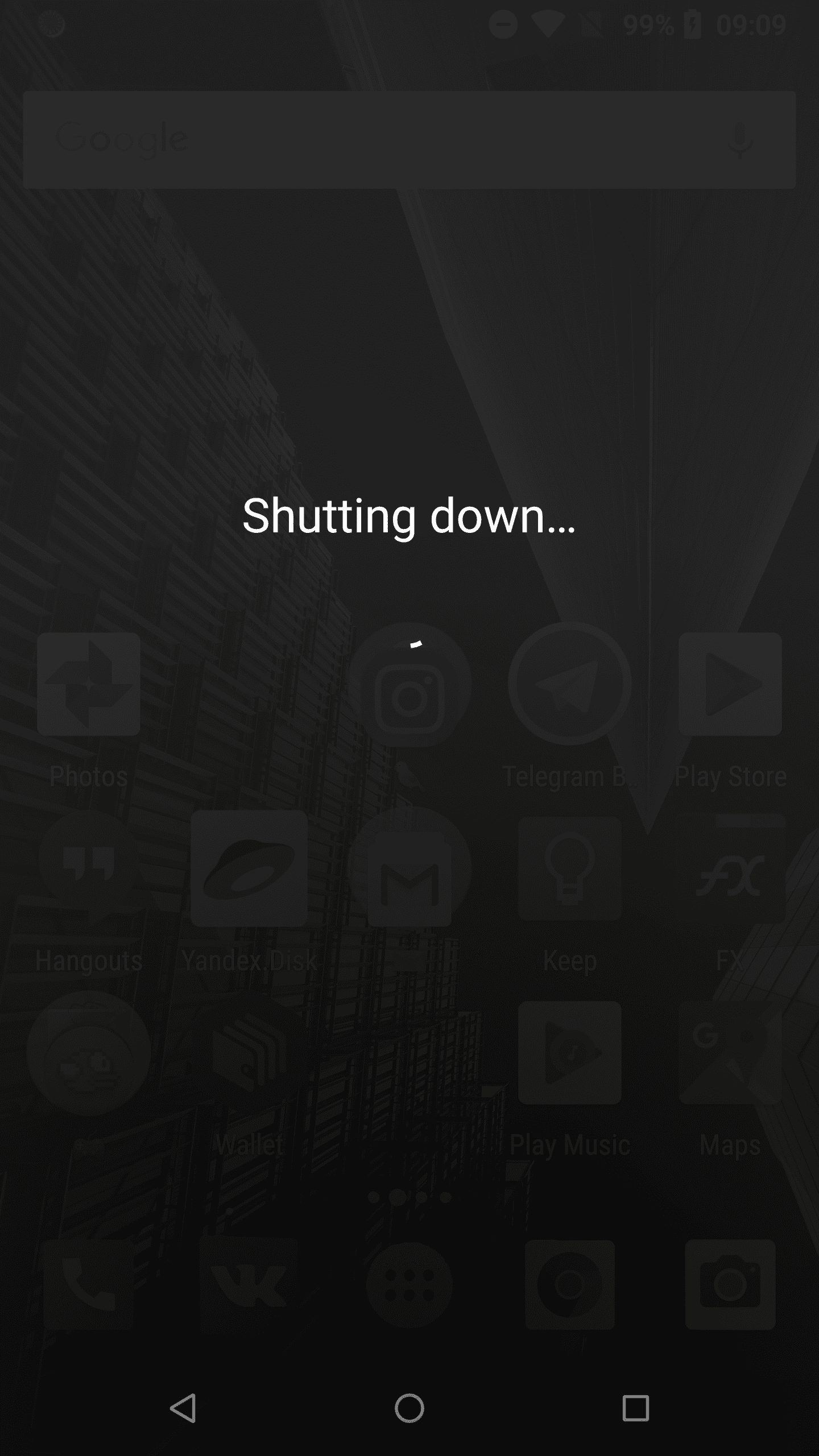 Why phone suddenly shut down