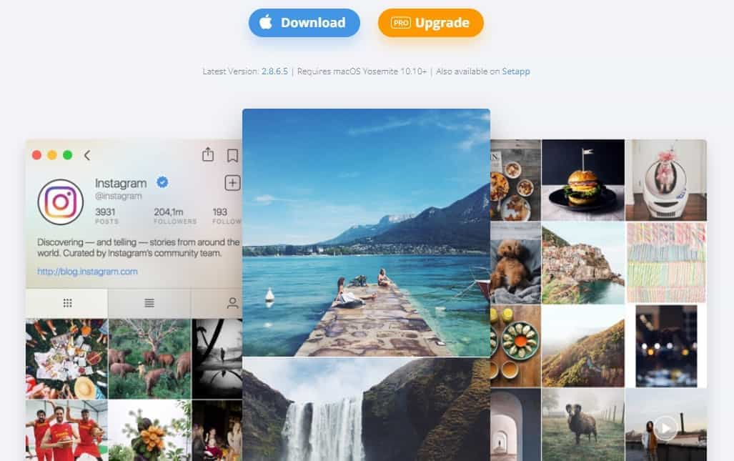 upload video to instagram from pc
