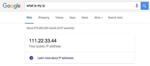 how to find ip address windows 10