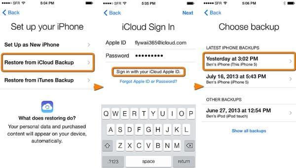 how to backup iPhone without iTunes