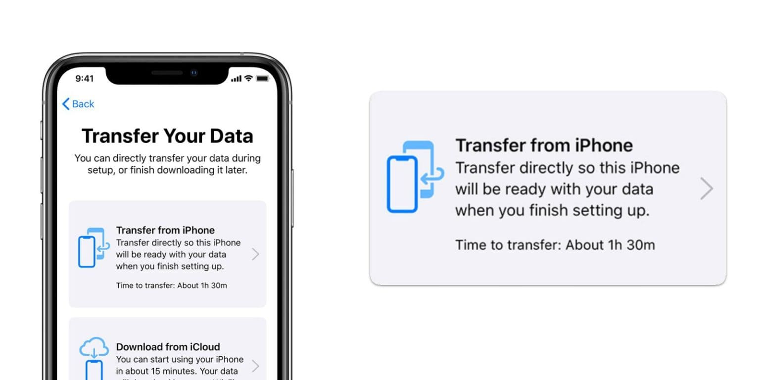 how to transfer data from iPhone to iPhone with iTunes