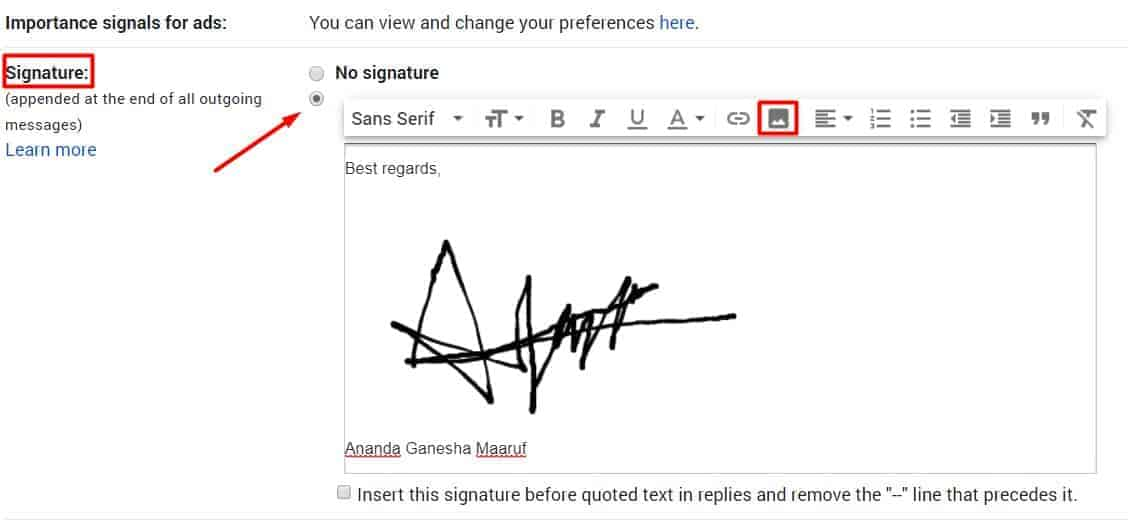 electronic signature free download