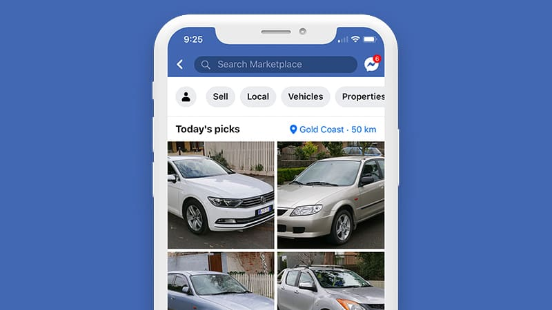 how to sell on facebook marketplace without friends seeing