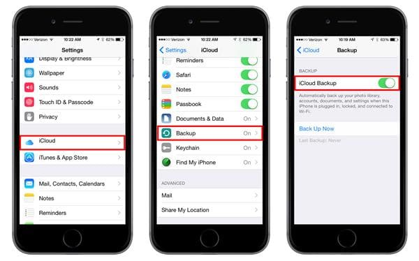 how to backup iPhone to pc
