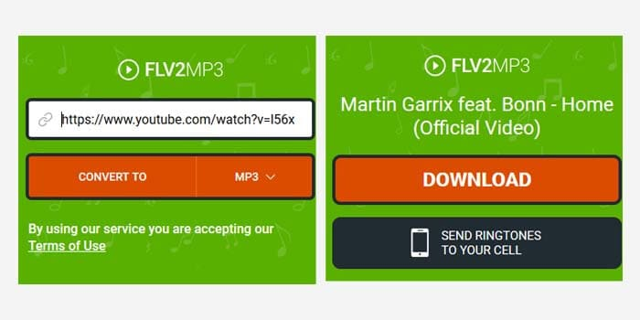 youtube to mp3 link generator
