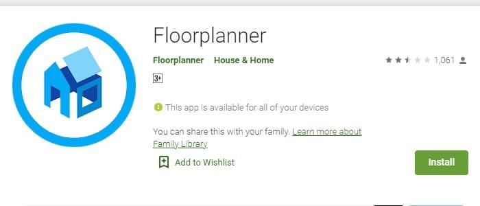 Floorplanner virtual interior design app