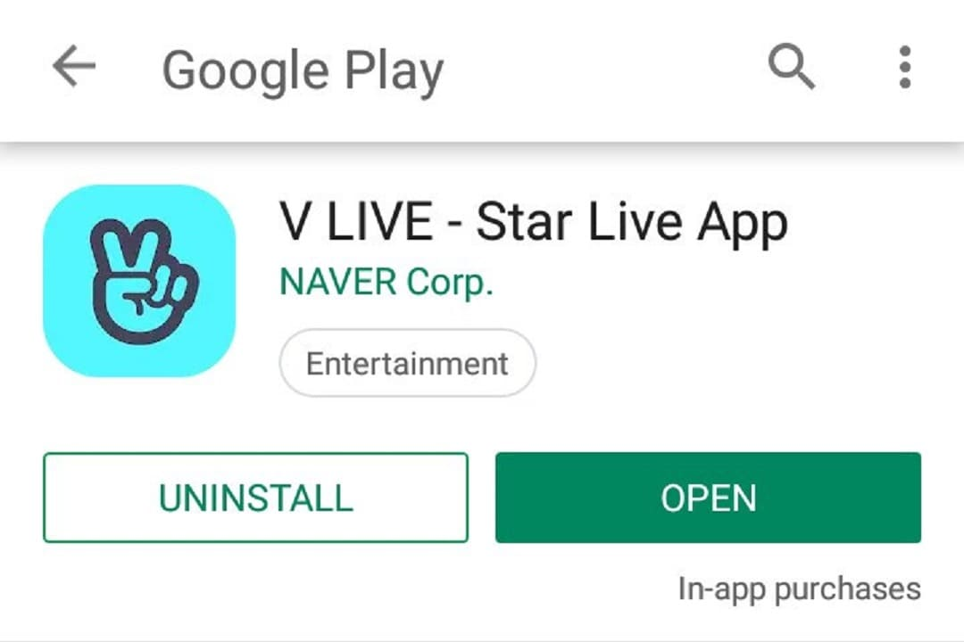 create vlive account with email