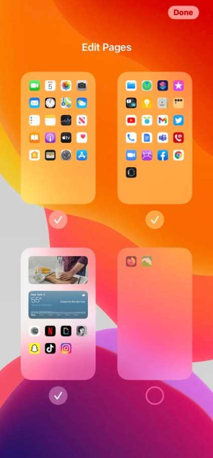 how to hide apps on iphone xr