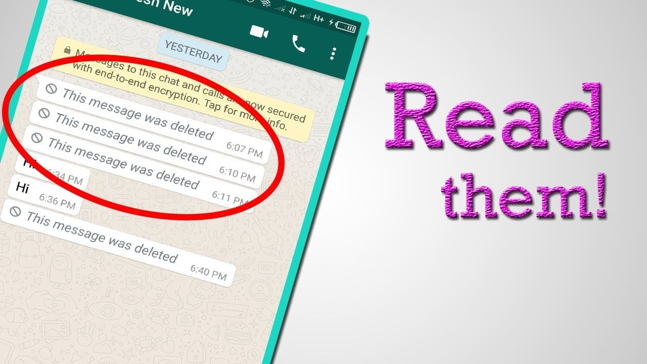 how to read deleted messages on whatsapp on iphone