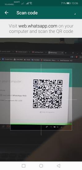 whatsapp web scan