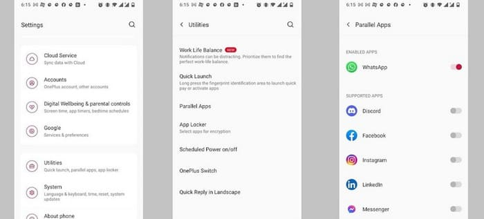 how to use two whatsapp in one android phone