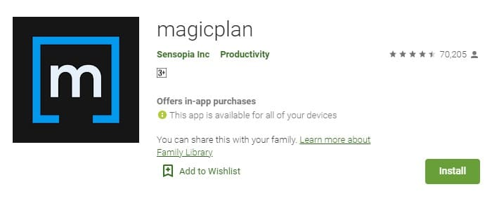 Magicplan 3d house design app