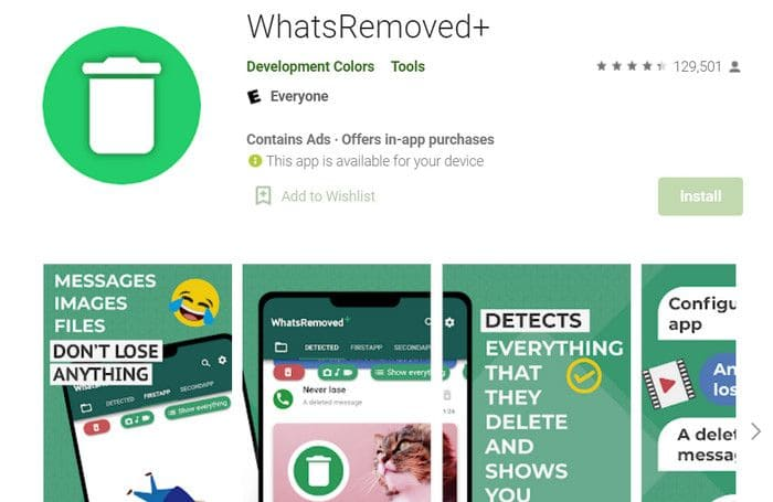 how to see already deleted messages on whatsapp by sender
