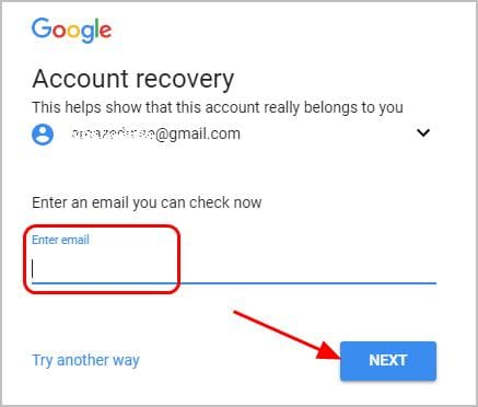 change email password gmail