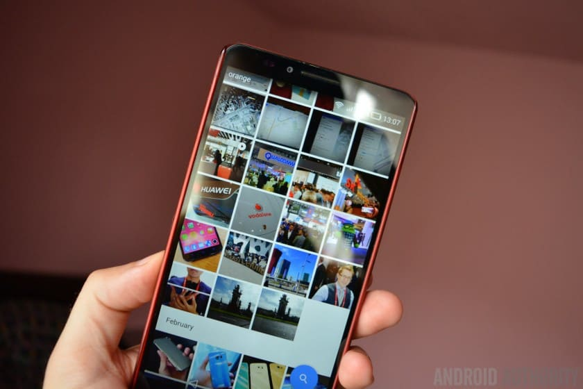 how to hide photos in gallery samsung