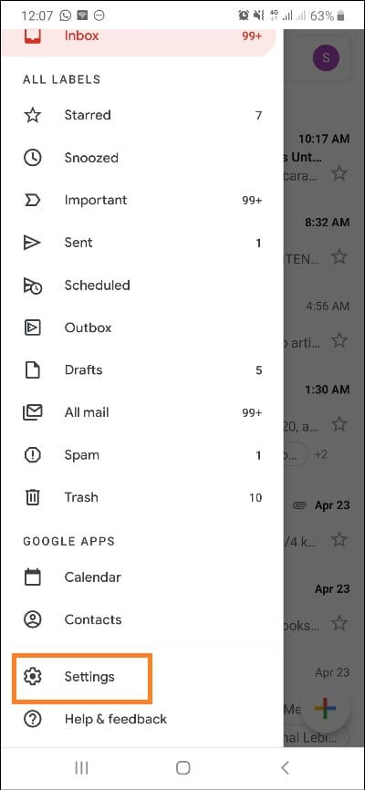 auto reply gmail sample