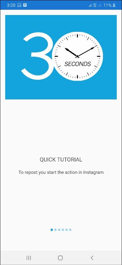 how to repost on instagram android