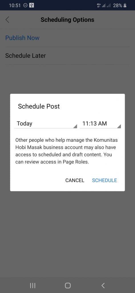how to schedule instagram stories hootsuite