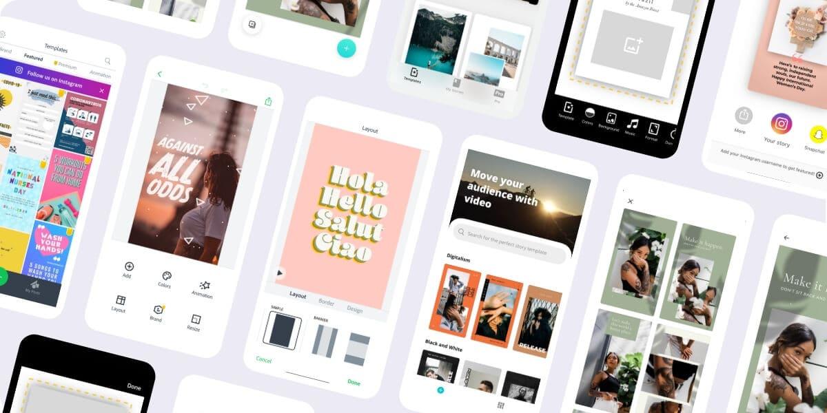 Design Apps For Instagram Stories