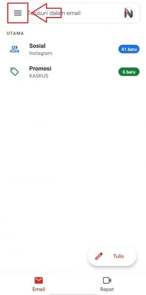 gmail dark mode android 9