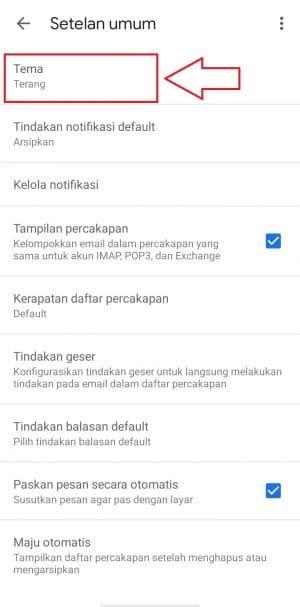 gmail dark mode iphone