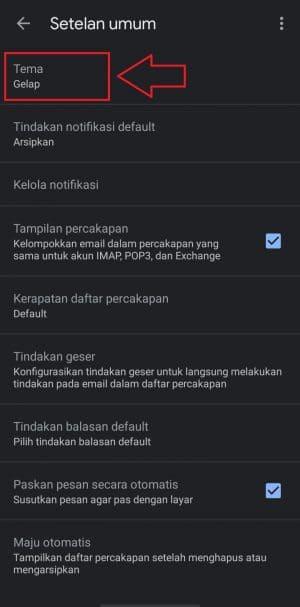 gmail dark mode apk