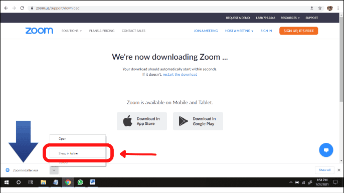 how to use zoom on laptop