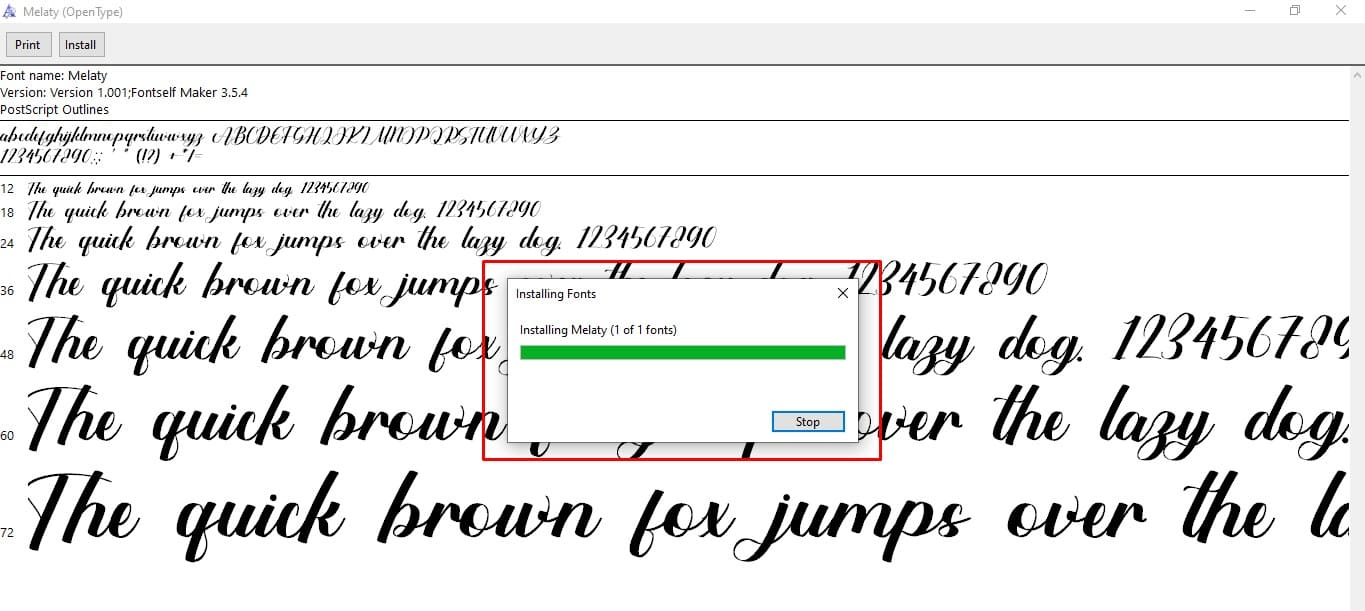 free fonts for windows 10