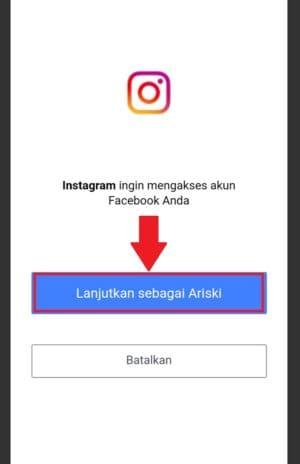 how to open instagram from facebook