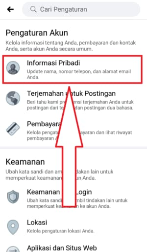 how to change name on facebook app