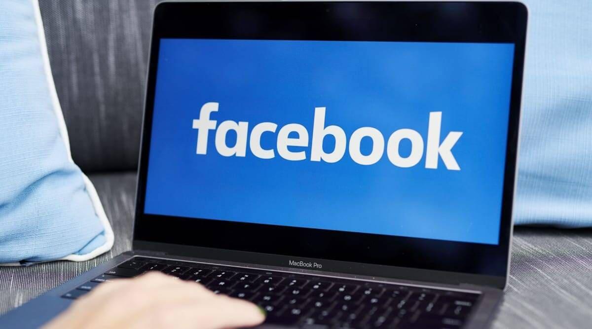 report facebook account link