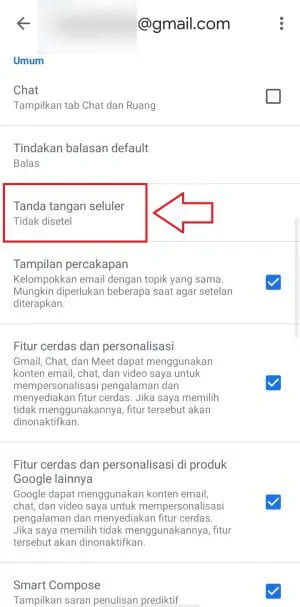 how to add signature in gmail in mobile