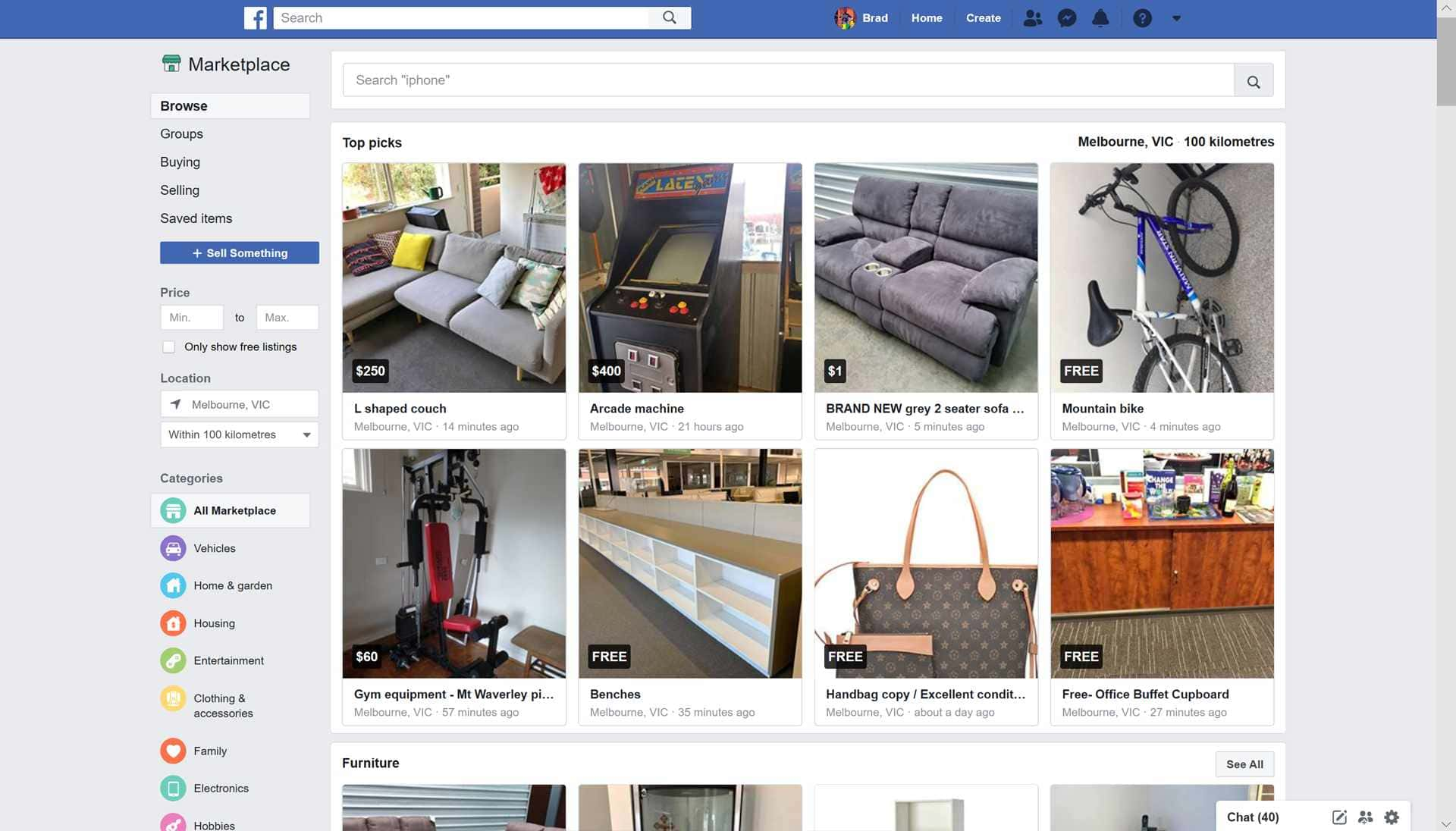 How to Find Things on Facebook Marketplace