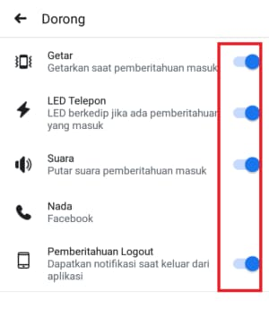 how to turn off facebook notifications sound on android phone